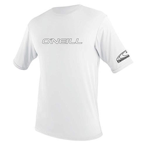 O'Neill Herren Basic Skins S/S Rash Tee Vest, White, 3XL