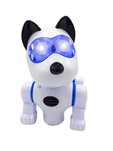 DARK DIAMOND® - Perro Robot, Mascota multifunción con Control Remoto. A Partir de 3 años.