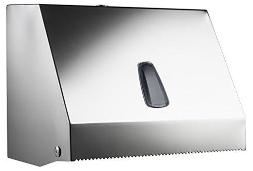 Distributeur Distributeur pour Papier Serviettes en papier intercalata ou rouleau acier inoxydable mer plast