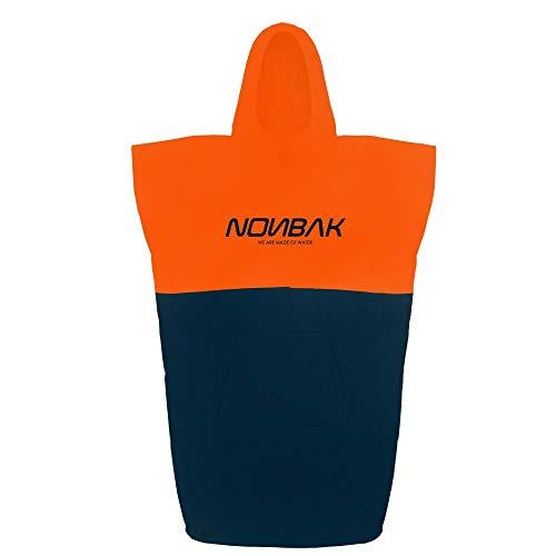 Nonbak Poncho Surf con Capucha y Bolsillo Poncho Toalla cambiarse de Ropa natación/Changing Robe (2 Colores)