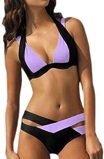 BEESCLOVER Women Swimwear Push Up Swimsuit Red White Black Hot Sale Bikini Cheap Bandage Swimsuit Bikinis