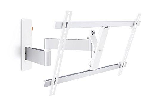 Vogel\'s WALL 2345 TV-Wandhalterung für 102-165 cm (40-65 Zoll) Fernseher, 180° schwenkbar und neigbar, max. 30 kg, Vesa max. 600 x 400, weiß