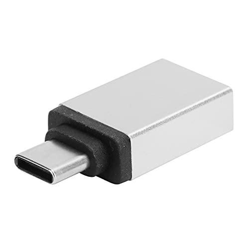 Meiyya Convertidor de Carga, Adaptador de tamaño pequeño para computadora para computadora portátil para teléfonos móviles(Grey)