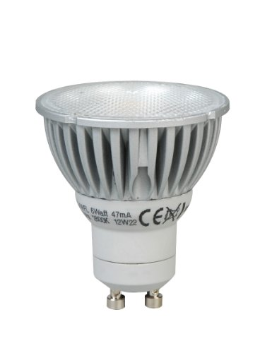 Megaman PAR16 GU10 - Bombilla LED regulable (6 W, 2800 K)