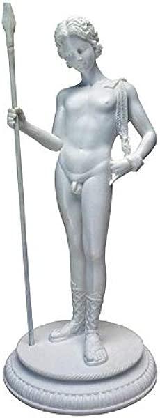 设计托斯卡诺狄俄尼索斯希腊生育之神粘合大理石树脂雕像白色
