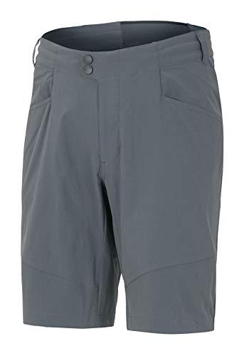 Ziener Herren NOLIK X-FUNCTION man (shorts) Fahrrad-Shorts/Rad-Hose mit Innenhose - Mountainbike/Outdoor/Freizeit - atmungsaktiv schnelltrocknend gepolstert