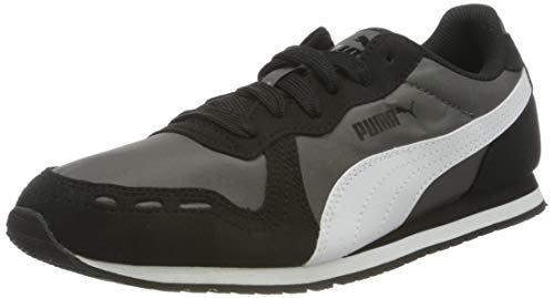 PUMA Cabana Run, Sneaker Unisex-Adulto, Grigio (Dark Shadow Black White), 36 EU