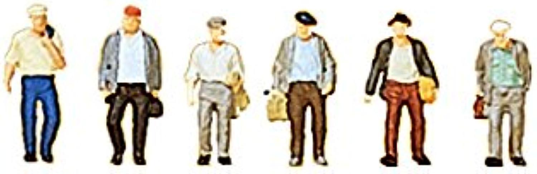 Preiser 88532 Male Commuters (6)