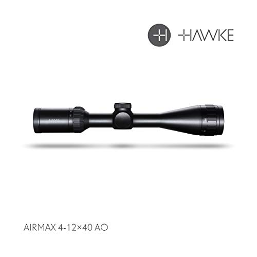 Hawke AIRMAX 4-12x40 AO Zielfernrohr, schwarz, M