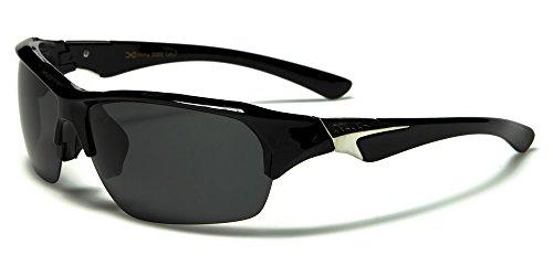 Black 'Light Tip' Specialist Polarised Ski Sunglasses - Polarised /...