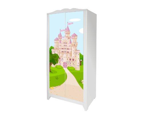 STIKKIPIX Märchenwelt Möbelsticker/Aufkleber für den Kinderschrank HENSVIK von IKEA - IM167 - Möbel Nicht Inklusive