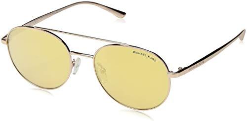 Michael Kors Damen Lon 11167J 53 Sonnenbrille, Gold (Rose Gold Tone/Liquidrosegold)