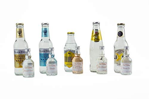 Gin Tasting Set Kollektion - 5 spannenden Gins mit passenden Tonics - empfohlen von Gin Chilla Bar Berlin