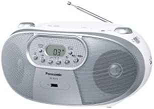 Panasonic RX-DU10 - Portable Stereo CD System with AM/FM Radio, MP3, CD-R/RW, USB Playback and Music Port - For 220V Countries