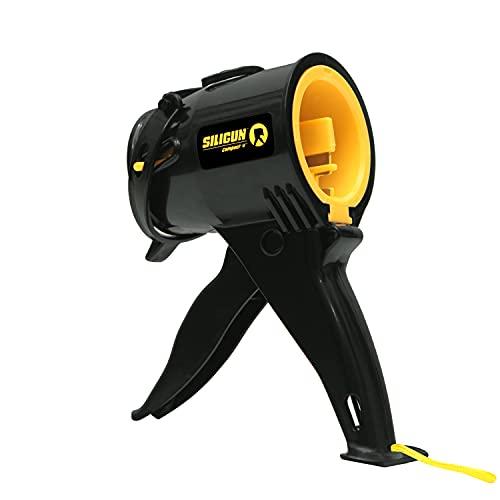 Portable Silicone Caulking Gun Mastic Cartridge Gun Sealant DIY Tools Compact Ideal for Tight Spaces Corners Sealing Caulking Filling