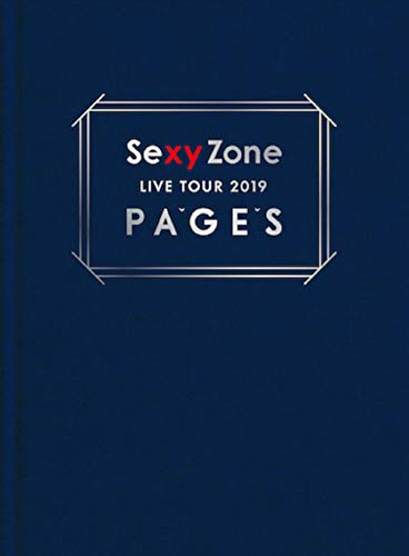 Sexy Zone LIVE TOUR 2019 PAGES(初回限定盤Blu-ray)(特典なし)
