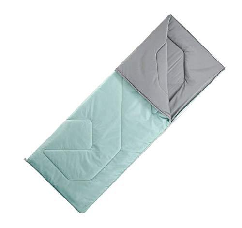 Quechua Schlafsack Camping Arpenaz grün Warmer Schlafsack für Camping, Übernachtungen Unisex One Size