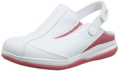 Oxypas Iris, Zapatos Seguridad Mujer, Blanco Fux