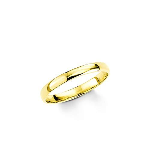 amor Ring für Damen 333 Gelbgold glänzend