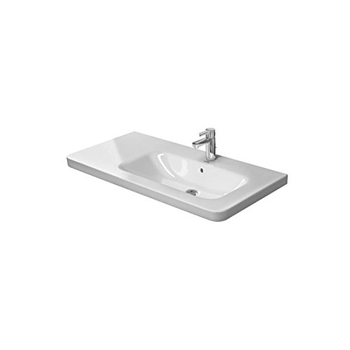 Duravit Möbelwaschtisch DuraStyle 1000 mm, Becken rechts, weiss