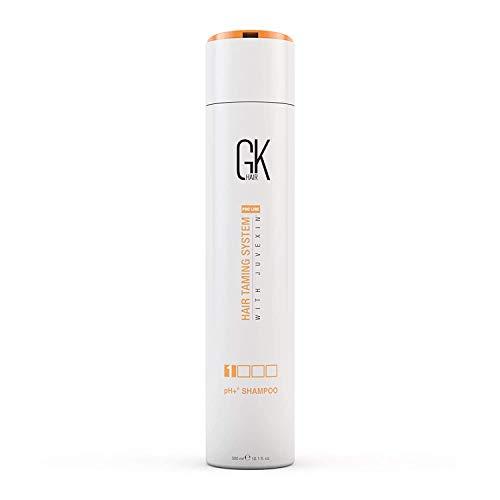 Mondiale pH + Keratin GKhair pré-traitement Clarifying Shampoo 300ml | Deep Cleansing, élimine les impuretés - Aloe Vera, vitamines et huiles naturelles