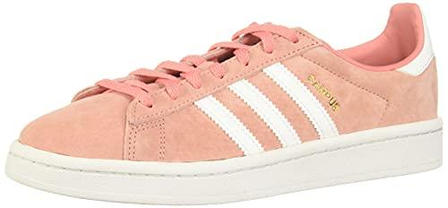 adidas Campus W, Scarpe da Ginnastica Donna, Rosa (Tactile Rose F17/Ftwr White/Crystal White), 36 2/3 EU