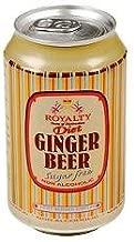 Royalty Ginger Beer Diet 330ml - (6 Pack)