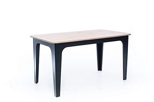 Bond Artisan - Mesa de comedor de roble (120 x 80 x 76 cm)