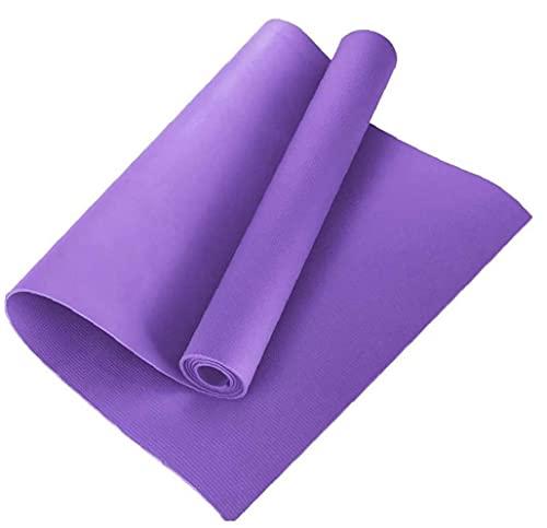 Uayasily Yoga Mat alfombras de Yoga Colchoneta de Ejercicio para no Slip Conjunto Cubierto de Deslizamiento Espesa el Sudor no para la Formación Yoga Pilates