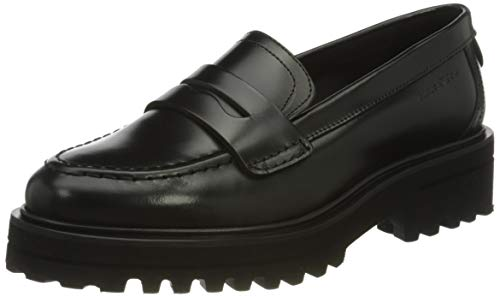 Marc O'Polo Damen 00715963201124 Penny Loafer, 990 Black, 38 EU