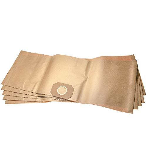 vhbw 10 sacs papier remplace Thomas Set 350, 787104 pour aspirateur 32cm x 90cm