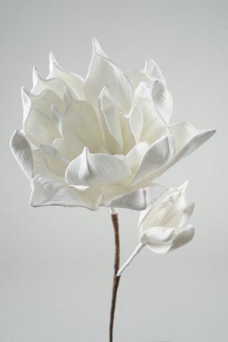 Mousse fleurs sur tige - 60 x 46 cm