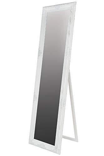 LaNatura Standspiegel Minu Holz Weiß 50x180 cm