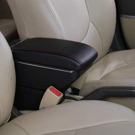 Preisvergleich Produktbild TINTABO,  Für Opel Astra 2010-2013,  Armlehnenbox Drehbare Auto Mittelarmlehne Aufbewahrungsbox Aschenbecher Getränkehalter Dekoration Zubehör