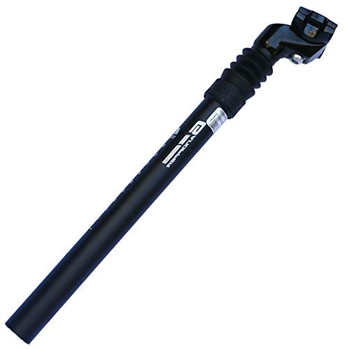 GANOPPER 25.4mm MTB Mountain Bike Suspension Seatpost Road Track Bicycle Cycling Seat Post 350mm (25.4350mm)