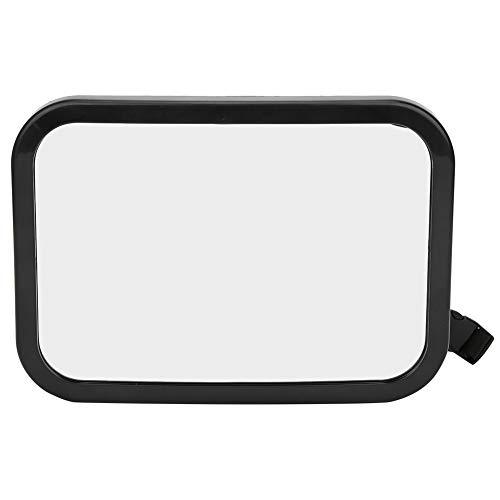 Espejo de coche para bebé, asiento trasero de ángulo ajustable Espejo para bebé con vista trasera Espejo para asiento de coche, el espejo infantil más seguro e inastillable, monitor de forma (#1)