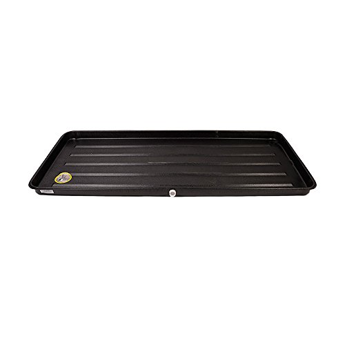 DiversiTech 6-2763L A/C Secondary Condensate Drain Pan, Outlet Long Side, Bottom 27' x 63', Overall Dimension 29' x 65', Depth 2'