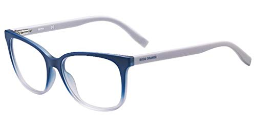 BOSS Orange Hugo Orange Sonnenbrille BO-0252-SWW-16-53-16-140 Gafas de sol, Azul (Blau), 53.0 para Mujer