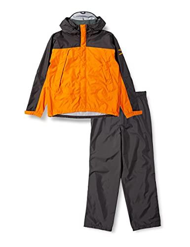[ミズノ] レインウェア アウトドア ベルグテックEX ストームセイバーV 上下 レインスーツ 100洗耐久撥水 耐水圧約30,000mm以上 透湿 A2JG4A01 メンズ オレンジ XL