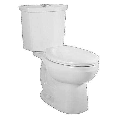 American Standard 2887216.020 H2Option Dual Flush Elongated 1.0/1.6 gpf Toilet, White