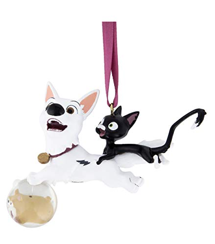 Disney Parks Bolt and Mittens Dog Cat Figurine 3D Ornament