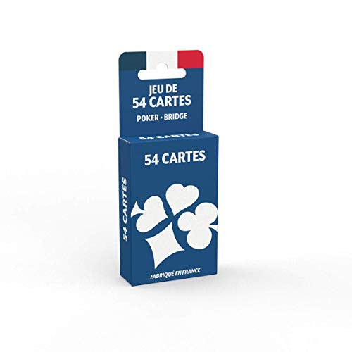 Jeu de 54 Cartes - Fabriqué en France - Jeu de Poker,...