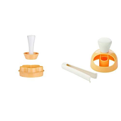 Tescoma Delícia Forma Tartelette, Plastica, Giallo & 630047 Delicia Forma Ciambelle con Pinza per Intingerle