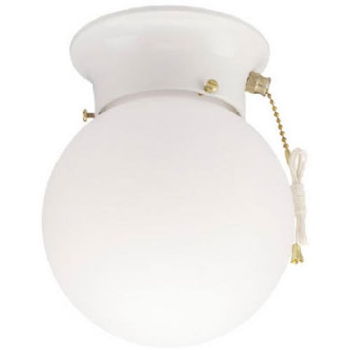 Westinghouse Lighting 6-Inch Ceiling Fixture, White