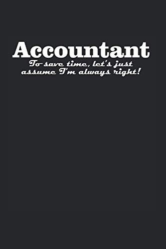 Accountant: Lustiges Controller & Buchhalter Notizbuch, Accountant & Bwl Studenten Geschenk, 120 Seiten A5 Kariert