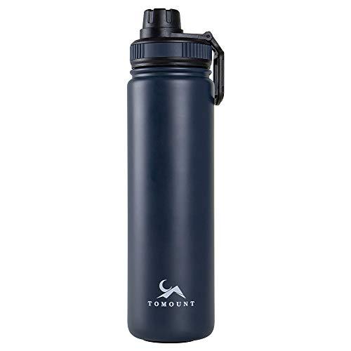TOMOUNT スポーツボトル 水筒 1リットル 保温 保冷 直飲み ステンレス 真空断熱 水筒 700ml/1000ml 大容量 登山 自転車 子供大人兼用 ジム アウトドア 真空ウォーターボトル