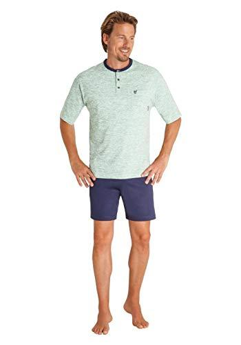 hajo Polo & Sportswear Herren Schlafanzug aus Reiner Baumwolle