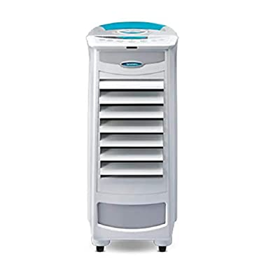 Symphony White Silver-I 9L Evaporative Air Cooler Portable | 3 Speeds | Remote Control | i-Pure Technology | Low Energy | Home or Office Use | FREE Promo Smaart 30PK Wipes