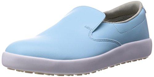 [ミドリ安全] 作業靴 耐滑 スリッポン ハイグリップ H-700N メンズ ブルー 30.0(30cm)
