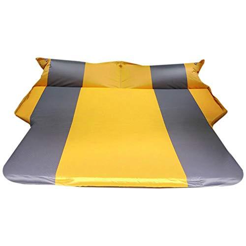 Colchón de Aire para Coche, inflado automático, Plegable, Resistente al Agua y Transpirable, Ligero y fácil de Llevar.